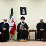 بیانات رهبرانقلاب در دیدار با رئیس جمهور و اعضای هیأت دولت