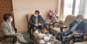 دیدار اسماعیلی نماینده مردم میانه با معاون عمران و توسعه امور شهری و روستایی وزیر کشور