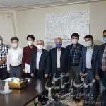 دیدار جمعی از خبرنگاران با اسماعیلی نماینده مردم میانه
