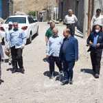 بازدید اسماعیلی نماینده مردم میانه از روستاهای بخش ترکمانچای