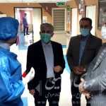 بازدید سرزده اسماعیلی نماینده مردم میانه از بیمارستان های خاتم الانبیاء و برکت امام خمینی(ره)