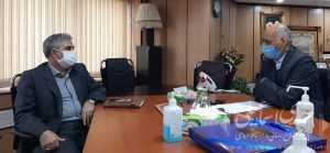 دیدار اسماعیلی نماینده مردم میانه با معاون آموزشی وزارت بهداشت و درمان