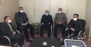 دیدار شهردار و شورای شهر آقکند با اسماعیلی نماینده مردم شهرستان میانه