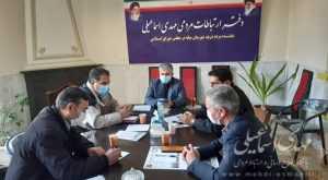 دیدار شهردار و اعضای شورای شهر ترک با اسماعیلی نماینده مردم میانه در مجلس