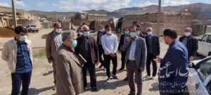 حضور اسماعیلی نماینده مردم شهرستان میانه در جمع اهالی بخش کندوان