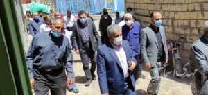 حضور اسماعیلی نماینده مردم شریف شهرستان میانه در چندین روستای بخش مرکزی