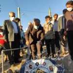 افتتاح و بهره برداری از پروژه تصفیه خانه آب شرب و احیای آبیاری صنعتی در روستای گلوچه خالصه