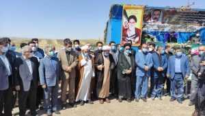 مراسم تشییع و تدفین پیکر مطهر شهید مدافع حرم رضا صفدری در شهر ترکمانچای+پیام تسلیت نمایندگان میانه